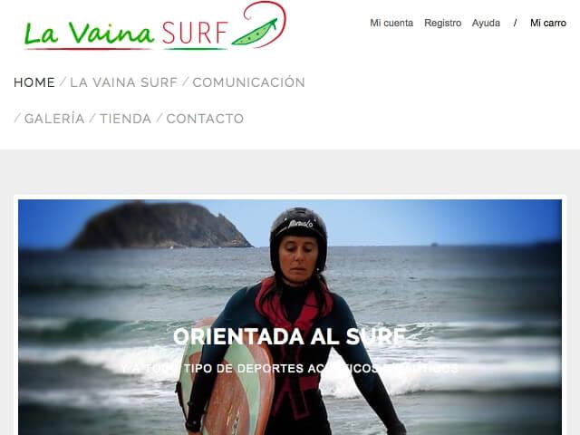 Tienda Internet Surf