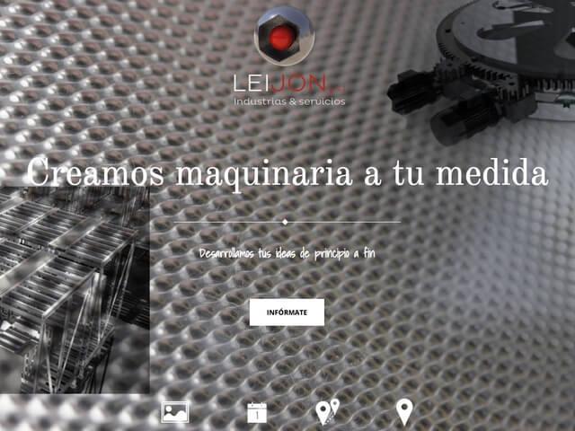 Web Empresa Industrial