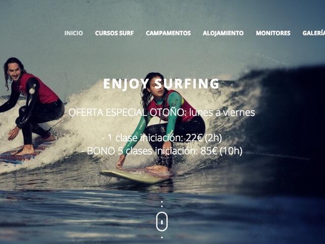 Web Escuela Surf